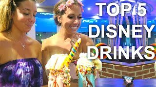 Top 5 Disney World Drinks - Recipe included