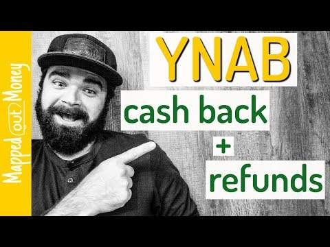 YNAB Tutorial - Dealing With Cash Back and Refunds