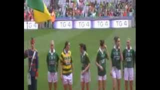 2012 Ladies All Ireland Ladies Football Championship Croke Park and  bands