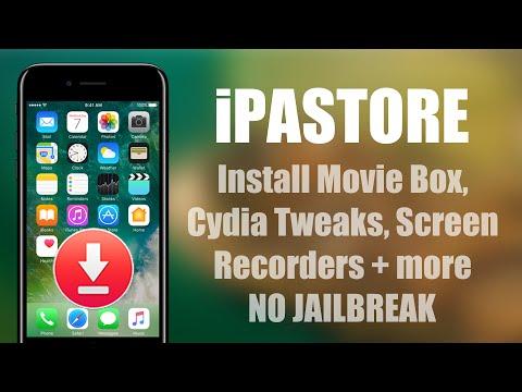 iPASTORE - Install Hacked Apps & Tweaks on iOS 10 - YouTube