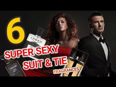 TOP 6 SUPER SEXY FRAGRANCES   SUIT & TIE EDITION (Best Men's Fragrances)