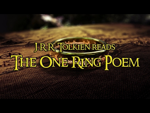 "J.R.R Tolkien reads ""The One Ring Poem"""