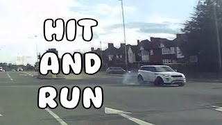 Dashcam Leicester   Road Traffic Collision (Hit and Run)