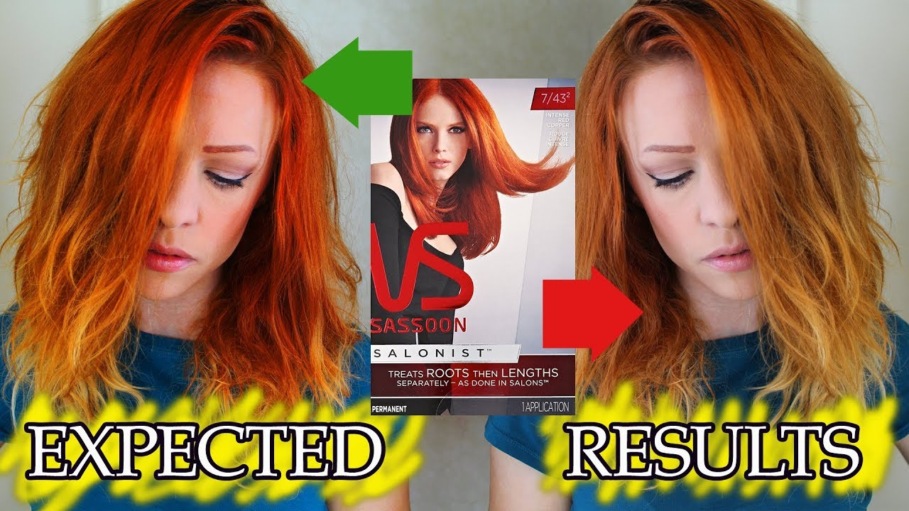 Its Only Been A Week Im Over This Vidal Sassoon Intense Red
