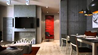 Идеи дизайна квартиры в стиле лофт преображаем интерьер(, 2015-07-08T08:23:58.000Z)