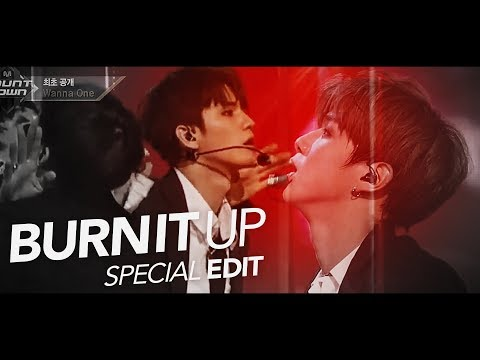LIVE Wanna One워너원「Burn It Up활활」Special Edit. from 170810 M COUNTDOWN