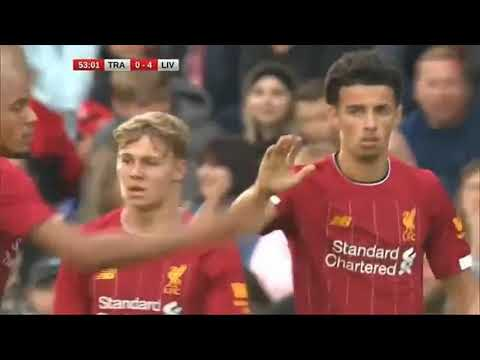 Tranmere Rovers vs Liverpool fc 0-6 11.07.2019 all goals higlights English