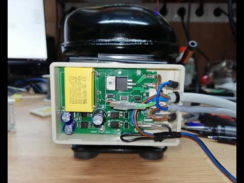 Обзор проекта по замене инверторного компрессора на обычный для холодильников LIEBHERR 5 и 8 поколен