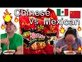 - Extreme Spicy Noodle 2x Challenge! Mexican Husband Vs. Chinese Wife! Who Will Win?!