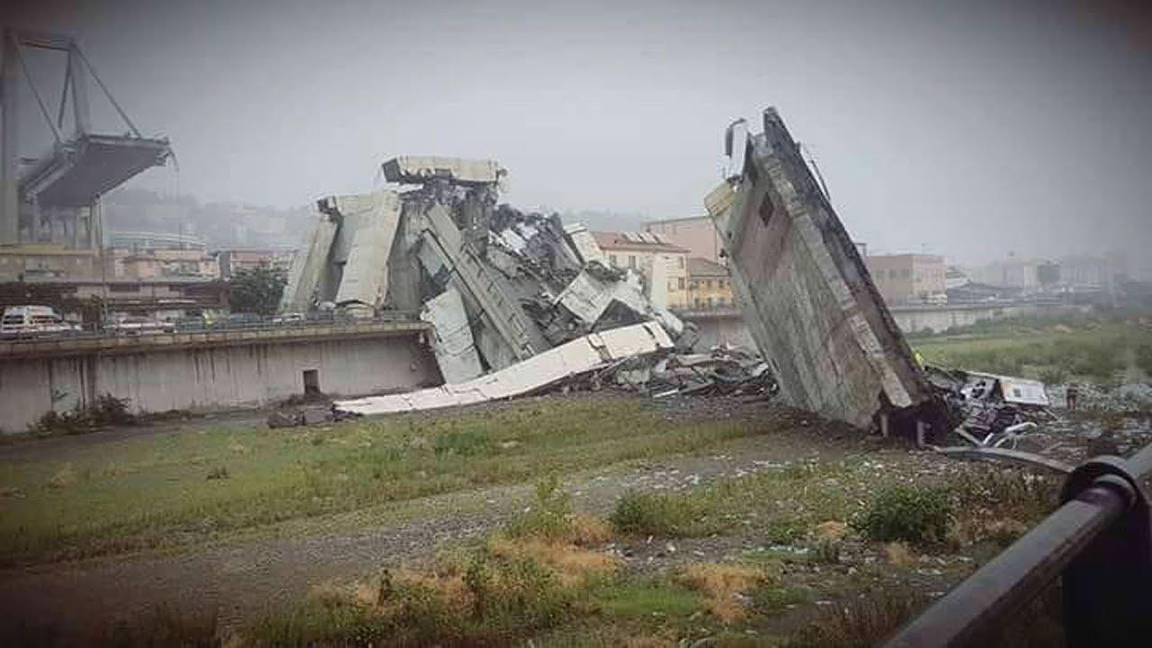 """Crollo ponte Genova A10. De Vita: """"Pericolose le strutture in cemento armato senza manutenzione..."""""""