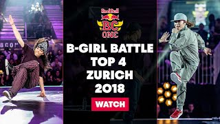 live red bull bc one world final 2018   b girl battle top 4 selection