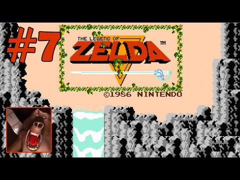 The Legend of Zelda (Nes) Part 7 - Level 8 - Magical Shield - Book, Key - 100% Walkthrough (Wii U)