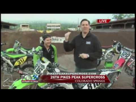 Pikes Peak SUPERCROSS - FOX21 Morning News - Part 1