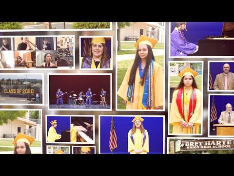 2020 Bret Harte Union High School District Graduation Ceremony
