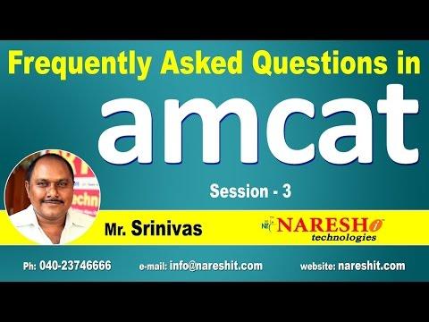 Quantitative Ability - Amcat | Frequently Asked Questions In Amcat | Session-3 | Amcat Tutorials