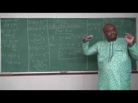 Derivatives by Rules: Power Rule - Part 1