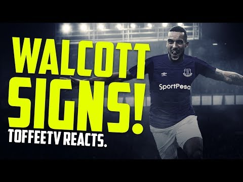 THEO WALCOTT SIGNS FOR EVERTON | BREAKING NEWS