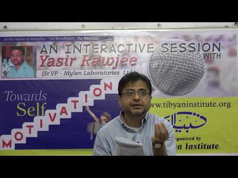 Towards Self Motivation - an interactive session with Yasir Rawjee