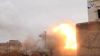 ضربات جوية تركية روسية أمريكية على مدينة الباب والنظام يدخل بقواته من جهتها الجنوبية