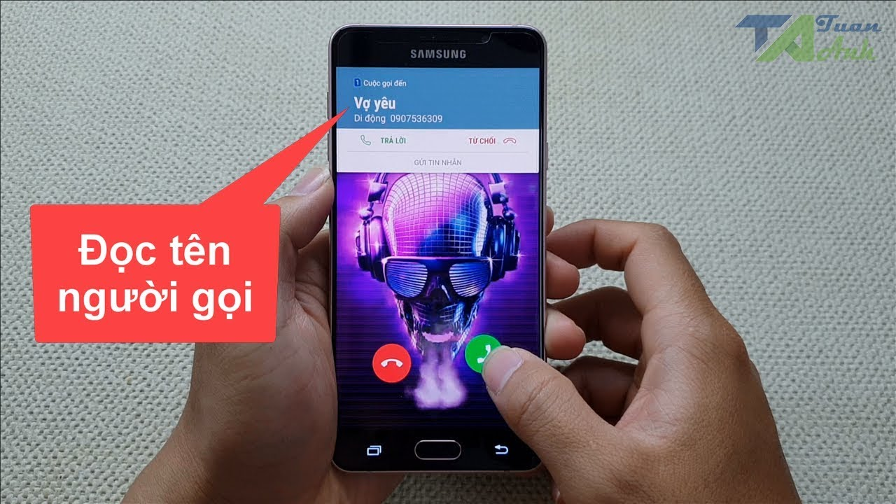 Phần mềm đọc tên người gọi cực hay trên điện thoại Android