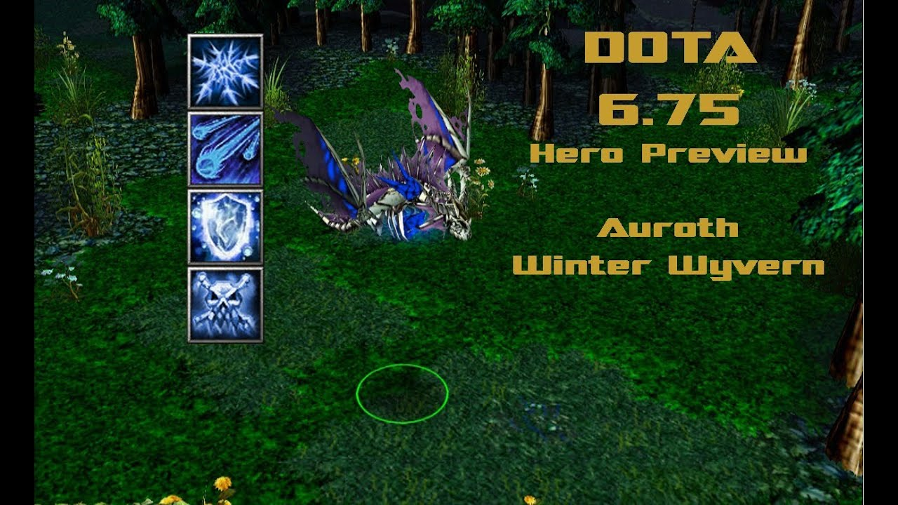 DotA 675 New Hero Preview Auroth The Winter Wyvern