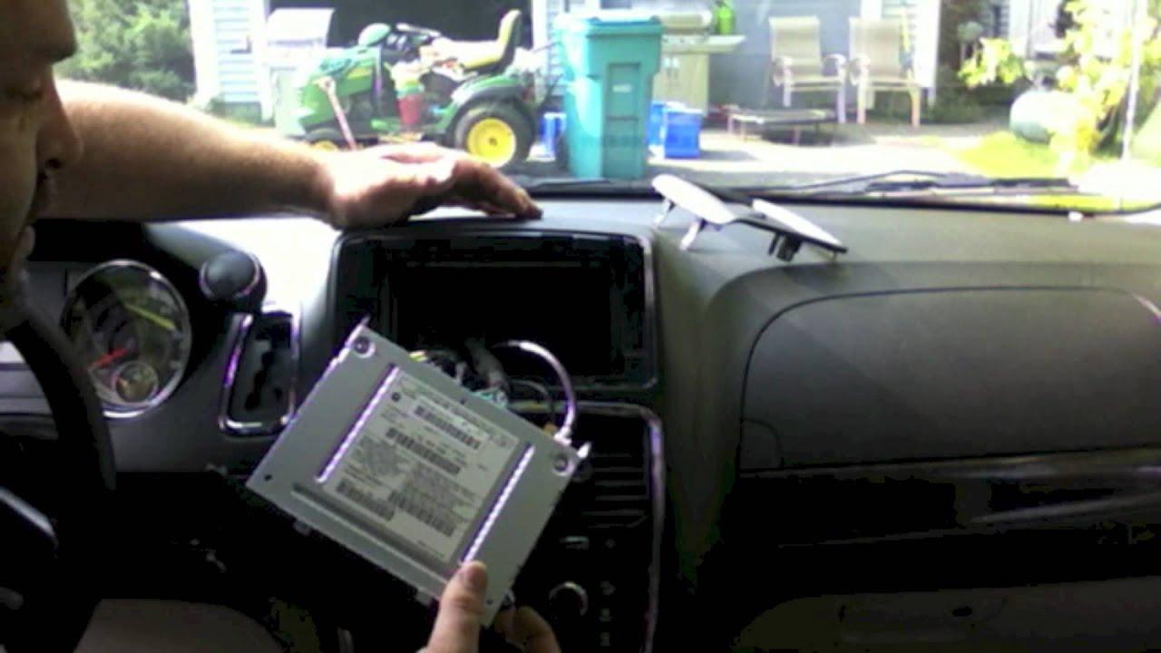 For Car Stereo Installation Wiring Diagram Chr 550 Lockpick Install On 2012 Dodge Grand Caravan Dvd