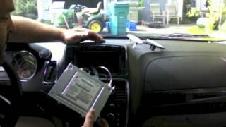chr-550 lockpick install on 2012 dodge grand caravan dvd in motion and more