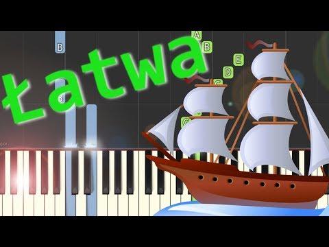 🎹 Bitwa (szanty) - Piano Tutorial (łatwa wersja) 🎹