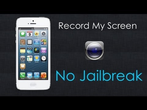 how do i record my iphone screen how to get record my screen iphone no jailbreak 2307