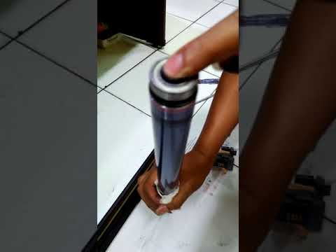 clean the striped  OPC drum in fuji xerox c5005d with easy way good results remain