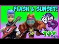 Flash Sentry Kmart Exclusive & Sporty Style Sunset Shimmer Equestria Girls Review by Bin's Toy Bin