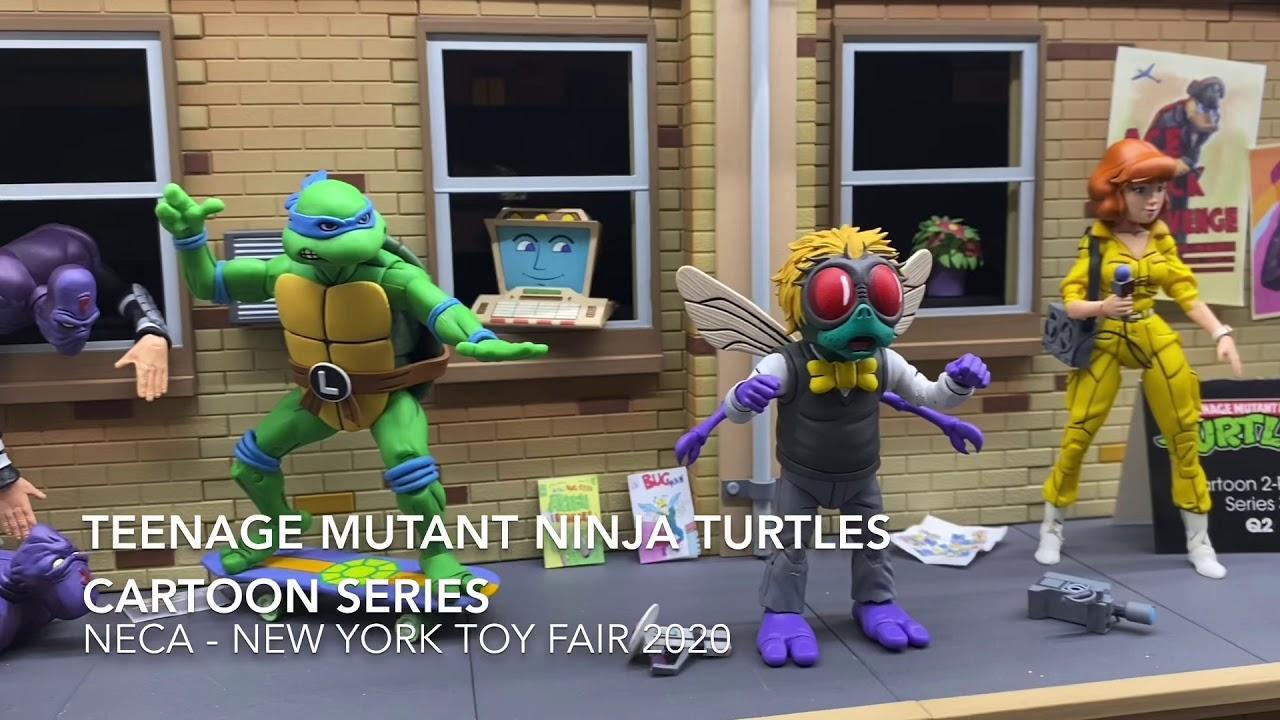 Neca Tmnt Teenage Mutant Ninja Turtles Cartoon Series New York Toy Fair 2020 Youtube