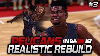 Zion DOMINATES Summer League! | NBA 2K19 Pelicans MyLeague Realistic Rebuild #3