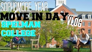 back to college move in day vlog spelman college