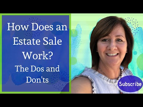 Dos and Don'ts of an Estate Sale with Realtor Kim Ward