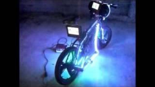 bicicleta modificada de veracruz.panamá...