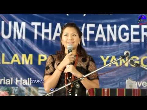 The Short-Speech of Thet Mon Myint in Chin Language: Short-Speech by Academy Thet Mon Myint (Mai Zng Cer Mawi) in Chin Language (Chin Harvest Festival, 2012)