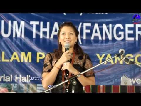 The Short-Speech of Thet Mon Myint in Chin Language
