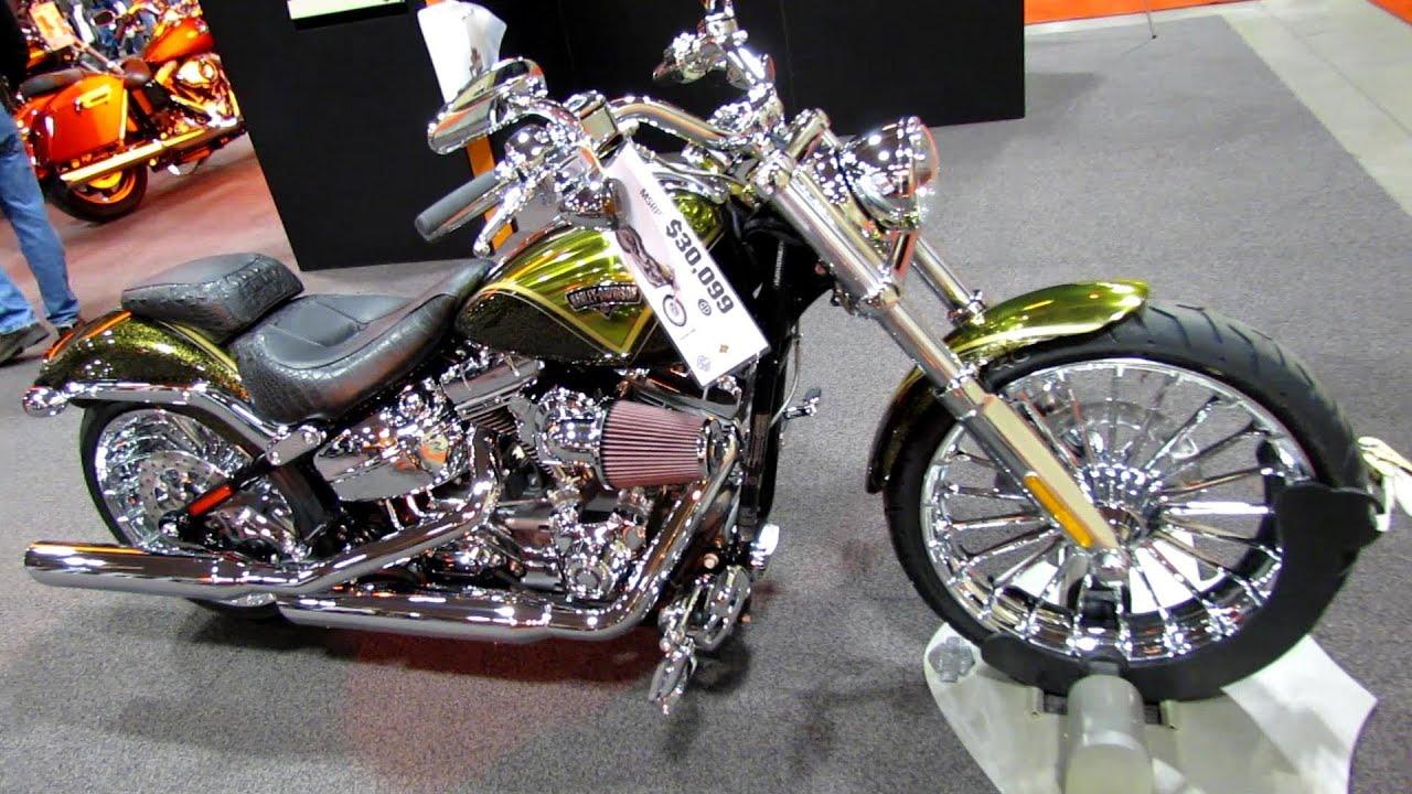 2013 harley davidson softail cvo breakout walkaround debut at 2012 toronto motorcycle show youtube
