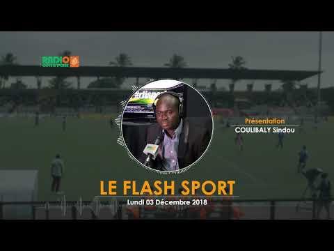 LE FLASH SPORT DU 03 Décembre 2018 - Radio CÔTE D'IVOIRE