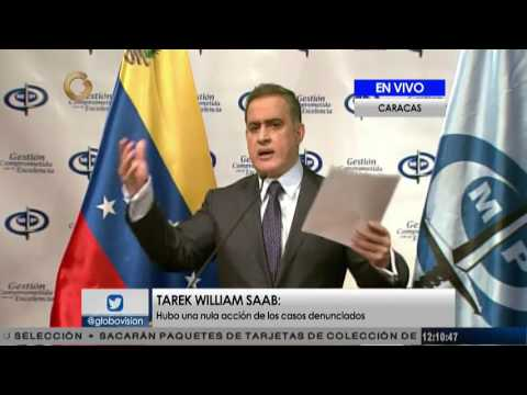 Tarek William Saab: Declaraciones de Luisa Ortega Díaz carecen de validez