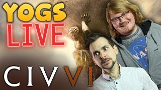 BIG LONG GAME OF CIV 6 w/ Lewis, Duncan & Rythian! - 14th November 2016