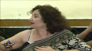 Press Cnfrence Salma Aaga Daughter Zarah Khan MMS   02