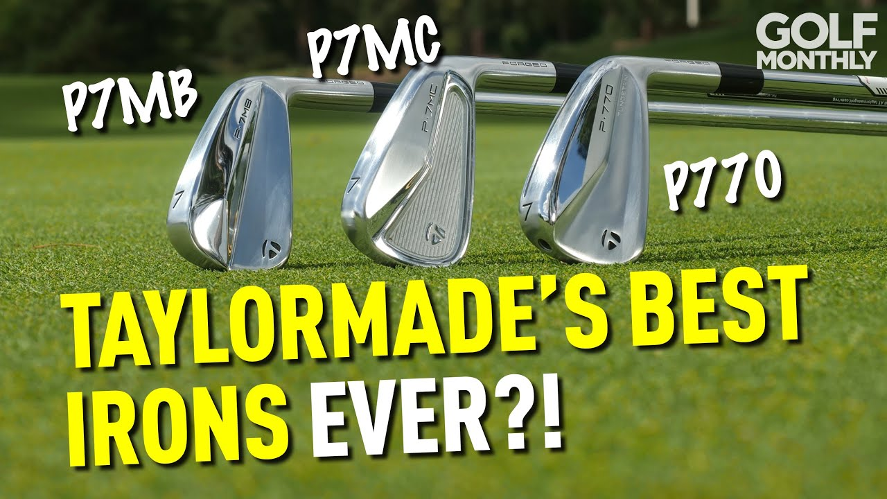 TAYLORMADE'S BEST IRONS EVER?! NEW P-SERIES MODELS TESTED