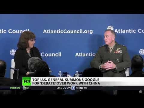 Pentagon Criticizes Google For Chinese AI Venture