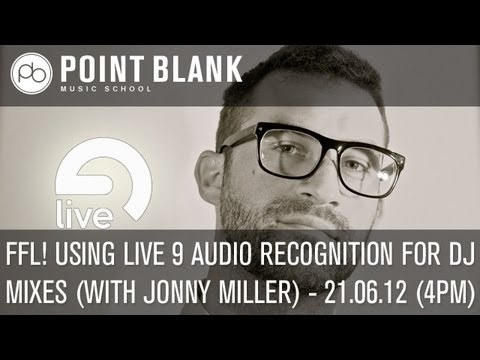 Friday Forum Live! Ableton masterclass with Jonny Miller (21/06/2013)