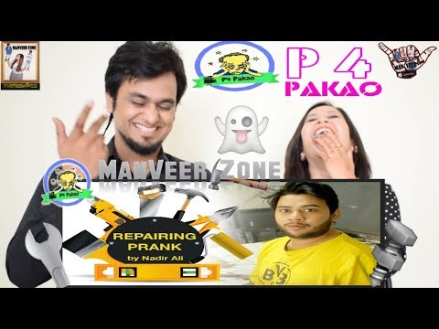 Electronic Repairing Pakistani Prank || By Nadir Ali in P4 Pakao || Indian Reaction