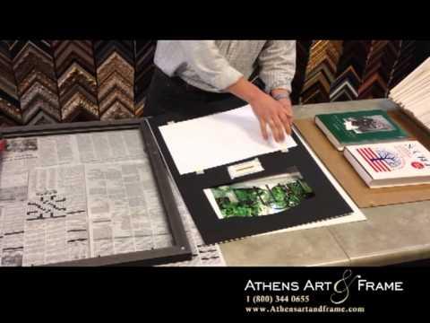 Athens Art & Frame - Diploma Installation - YouTube