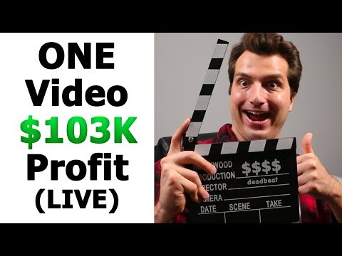 (LIVE) How 1 YouTube Video Made Me $103K [Blueprint]