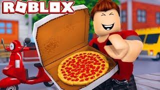 ROBLOX: Divento un ragazzo DI PIZZA DELIVERY! P3DRU